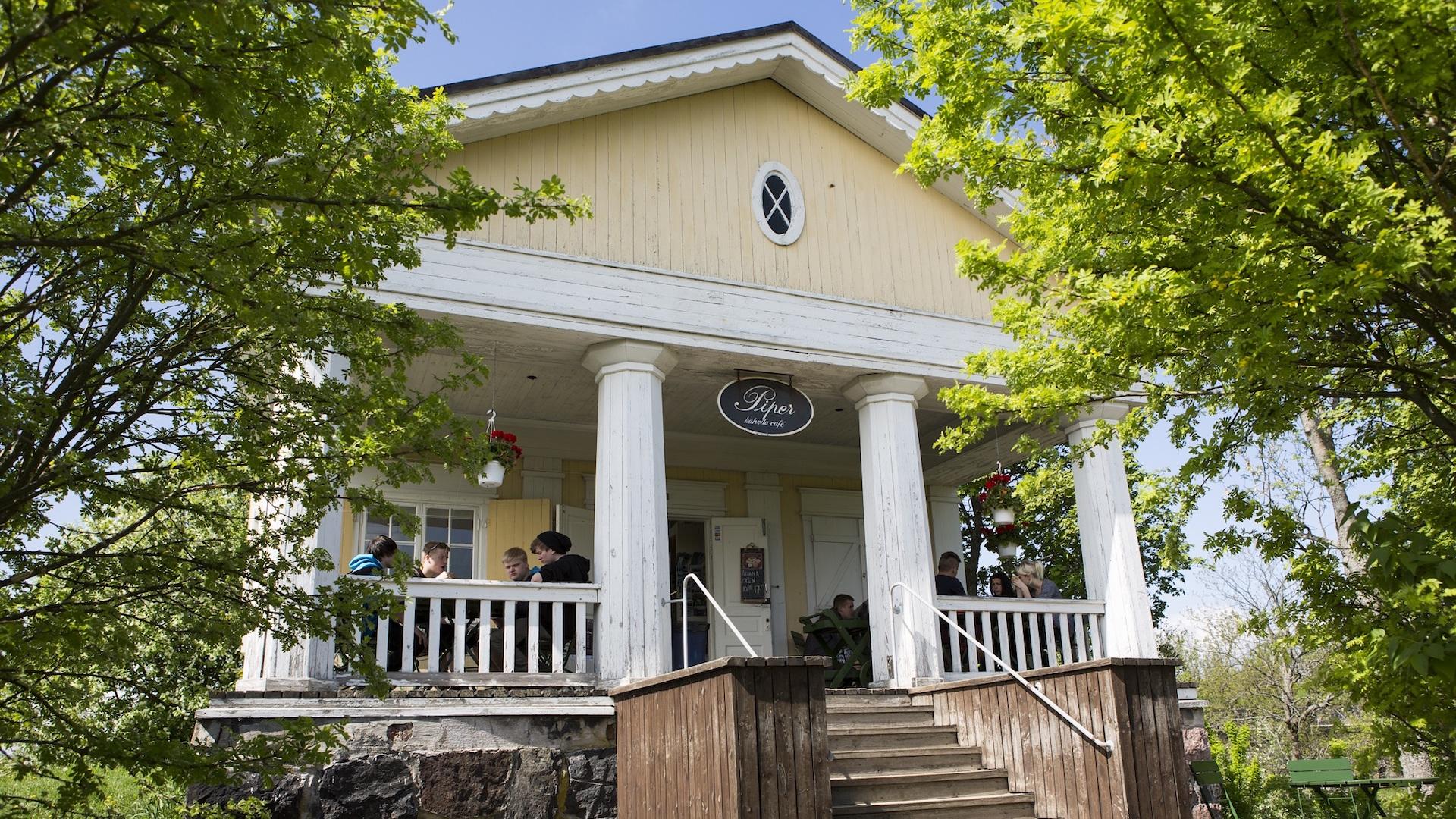 Cafe Piper Suomenlinna