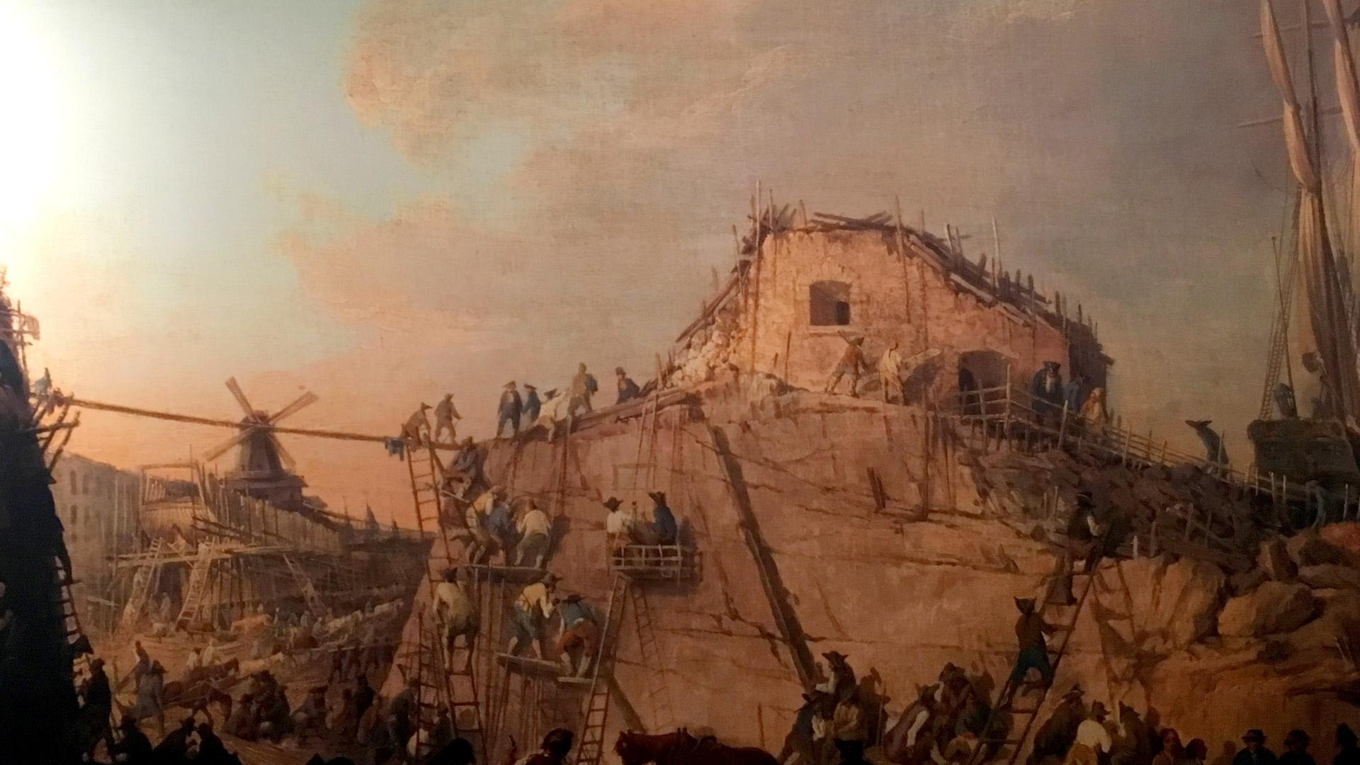 Suomenlinnan rakentaminen