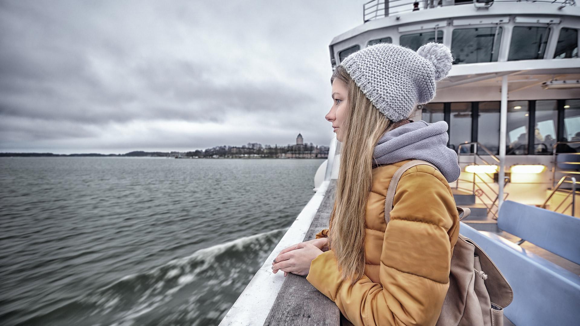 Suomenlinnan lauttamatka