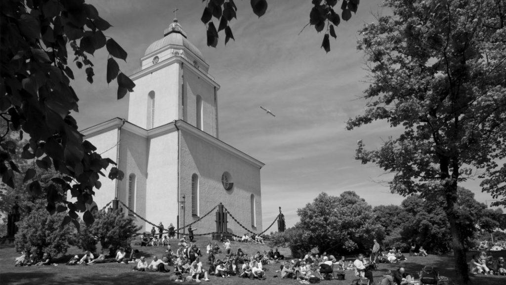 Церковь-маяк на Свеаборге