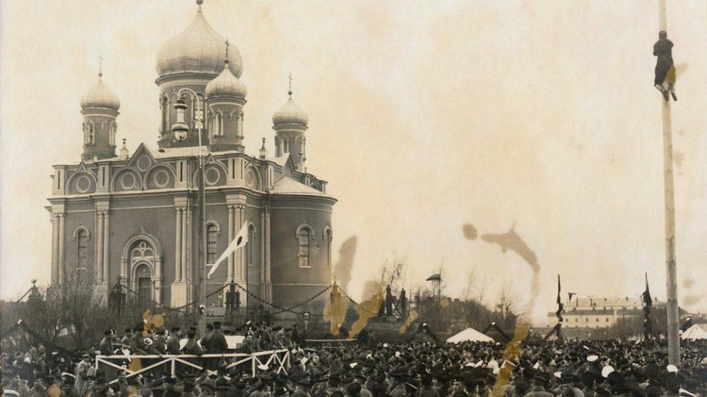 Церковь Александра Невского, морская крепость Свеаборг