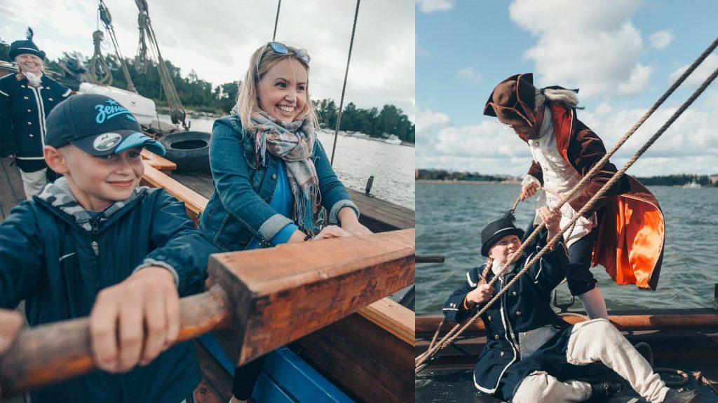 Морские экскурсии Свеаборга
